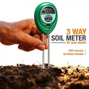Dụng cụ đo PH - Độ ẩm - Ánh sáng 3 trong 1 HM031