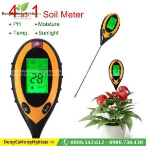 Máy đo PH - Nhiệt độ đất HM058